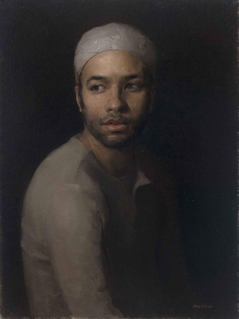 Portrait of a Young Man by Dana Levin
