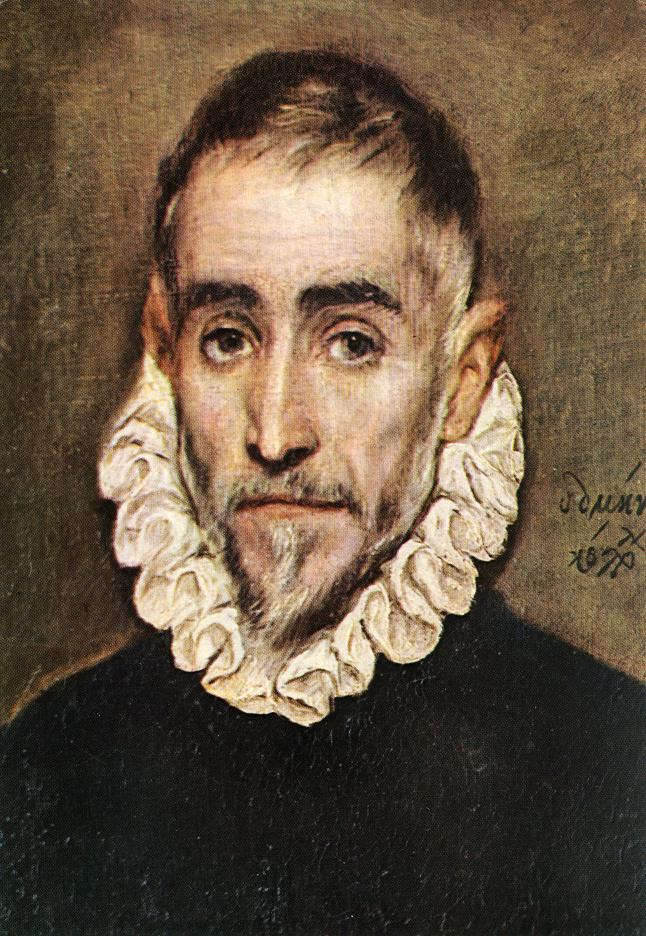 Portrait of an Elder Nobleman by El Greco