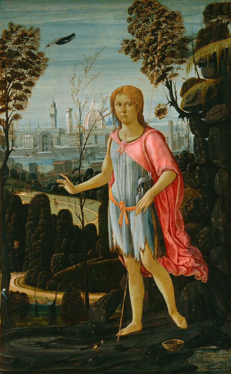 Saint John the Baptist by Jacopo Del Sellaio