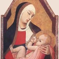 Suckling Madonna by Ambrogio Lorenzetti