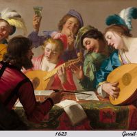The Concert by Gerrit van Honthorst