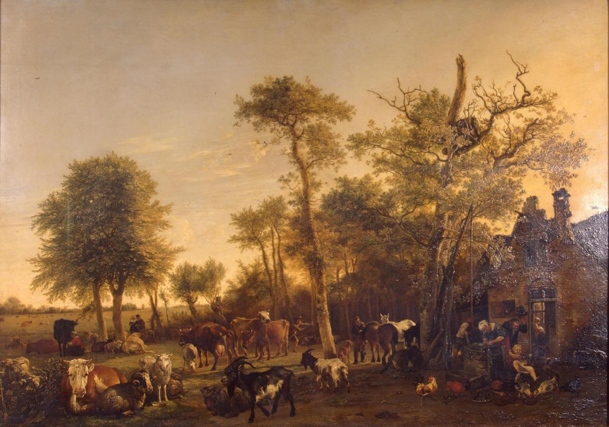 The Farm by Paulus Potter