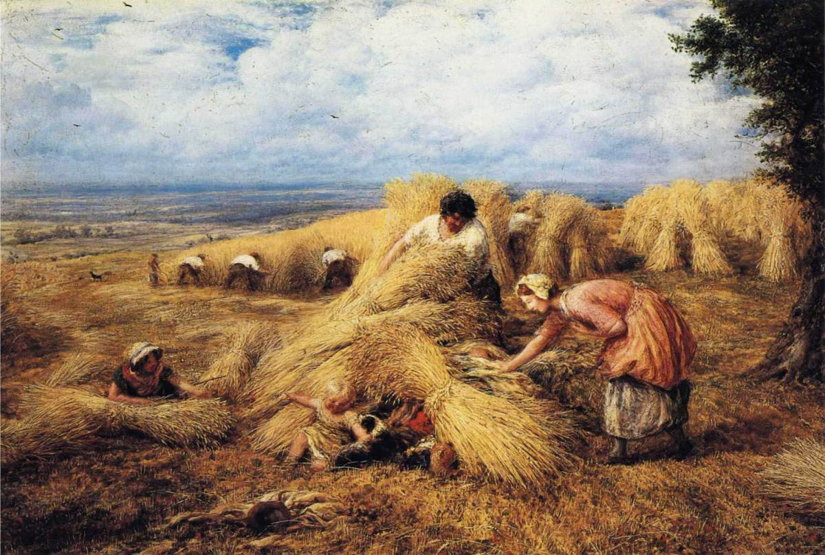 The Harvest Candle by John Linnell