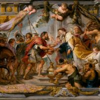 The Meeting of Abraham and Melchizedek by Peter Paul Rubens