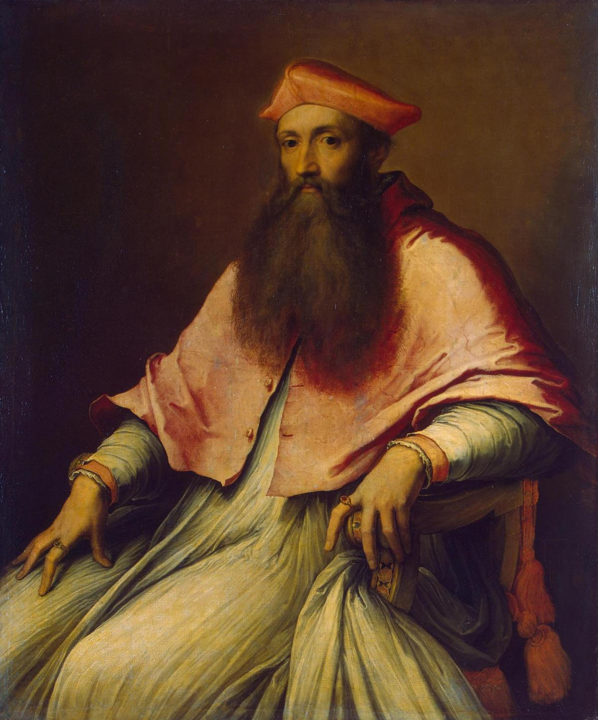 Portrait of Cardinal Reginald Pole by Sebastiano del Piombo