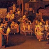 The Wedding Feast by Johannes Baptiste Pflug