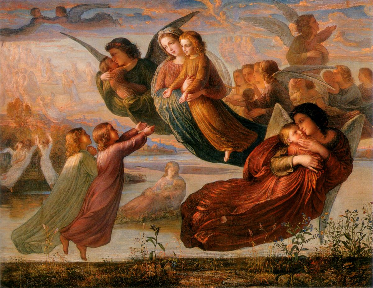 Le Poeme de lame Souvenirs du ciel by Anne Francois Louis Janmot