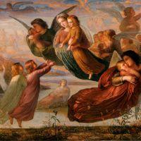Le Poème de l'âme Souvenirs du ciel by Anne-Francois-Louis Janmot