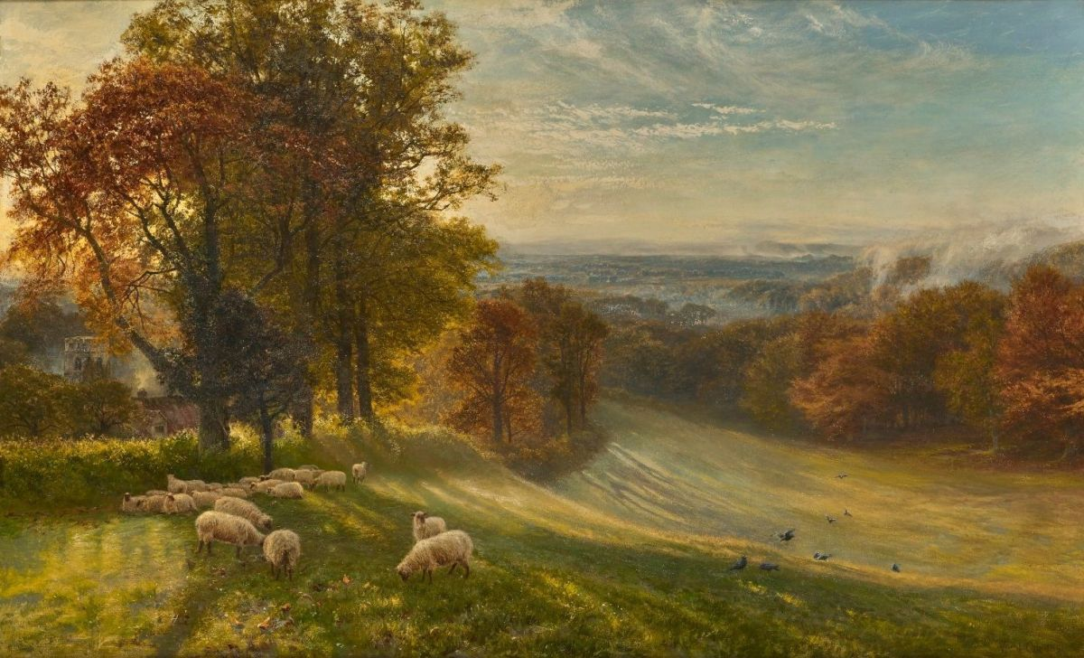 Autumn Morning by George Vicat Cole