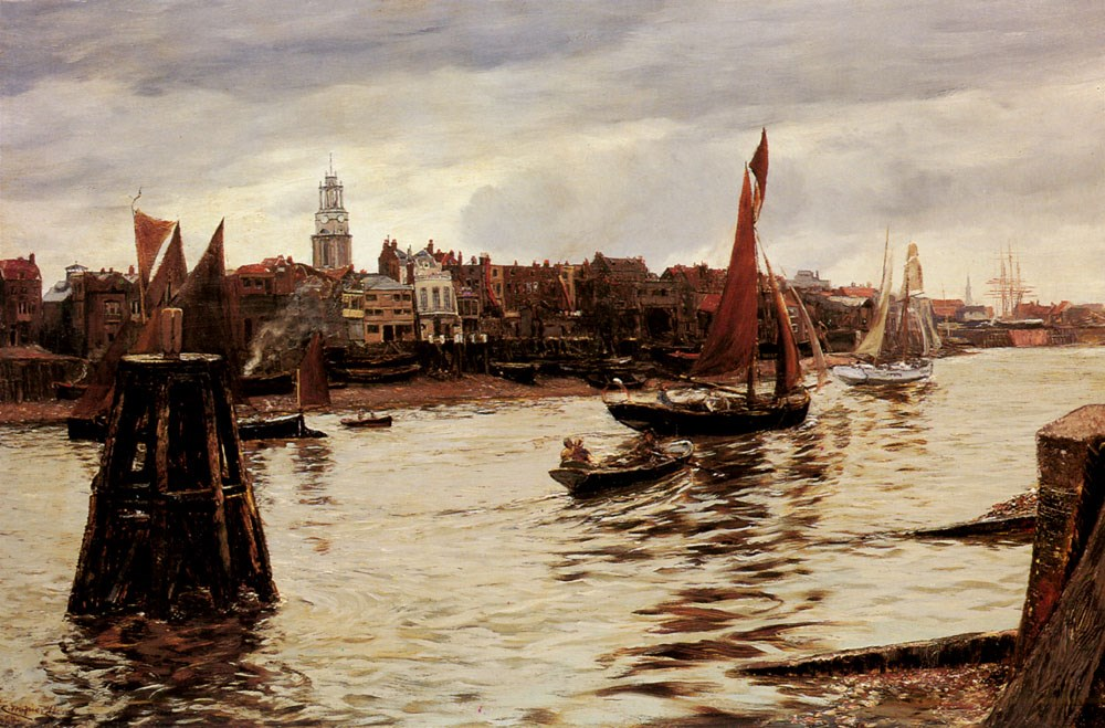 Limehouse by Charles Napier Hemy