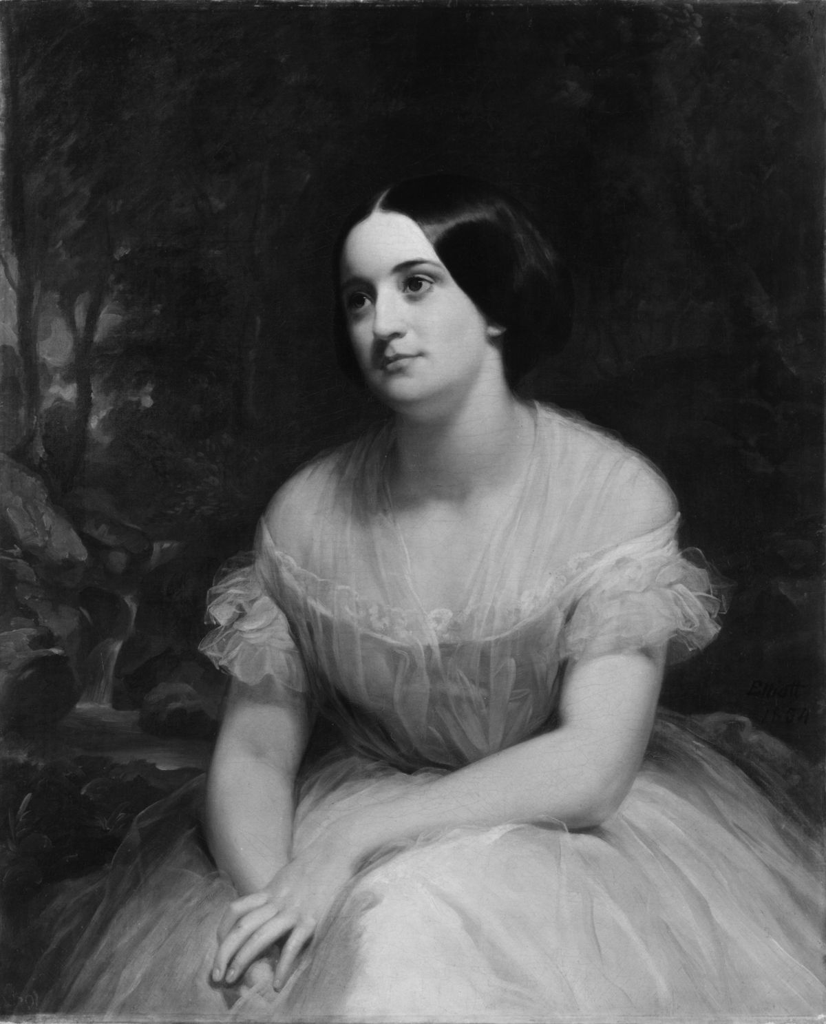 Mrs James Clinton Griswold by Charles Loring Elliott