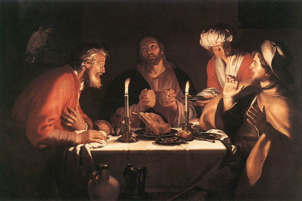The Emmaus Disciples by Abraham Bloemaert