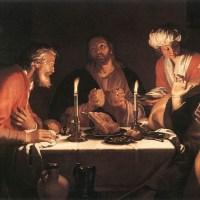 The Emmaus Disciples by Abraham Bloemaert