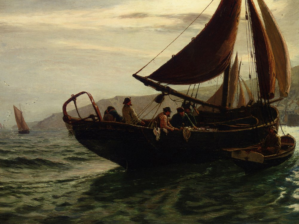 The Trawler by Charles Napier Hemy