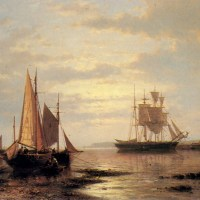 Twilight Sails by Abraham Hulk Snr