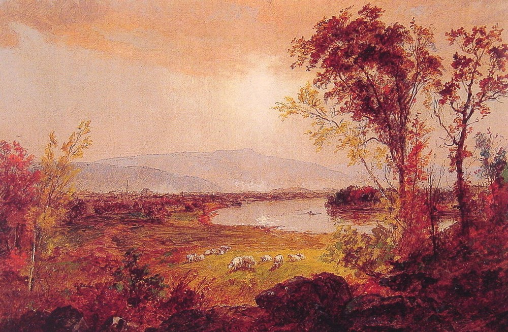 A Bend in the River by Jasper Francis Cropsey