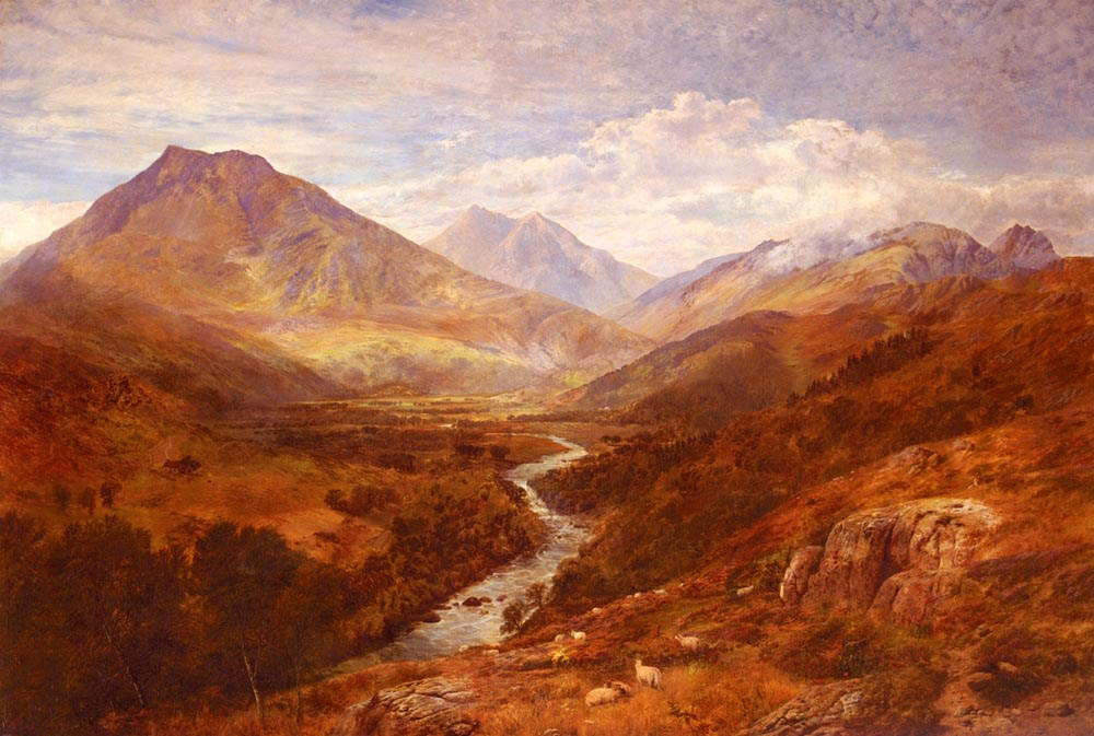 A Welsh Landscape by George Vicat Cole