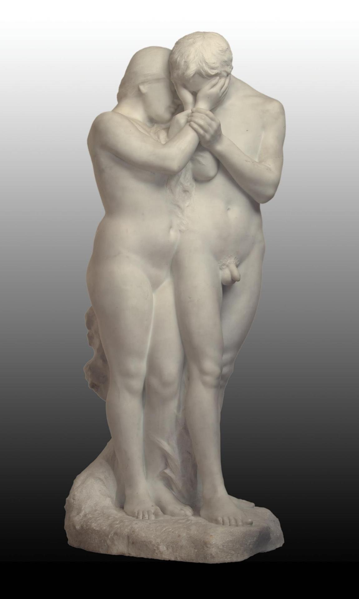 Adam and Eve by Paul Albert Bartholome