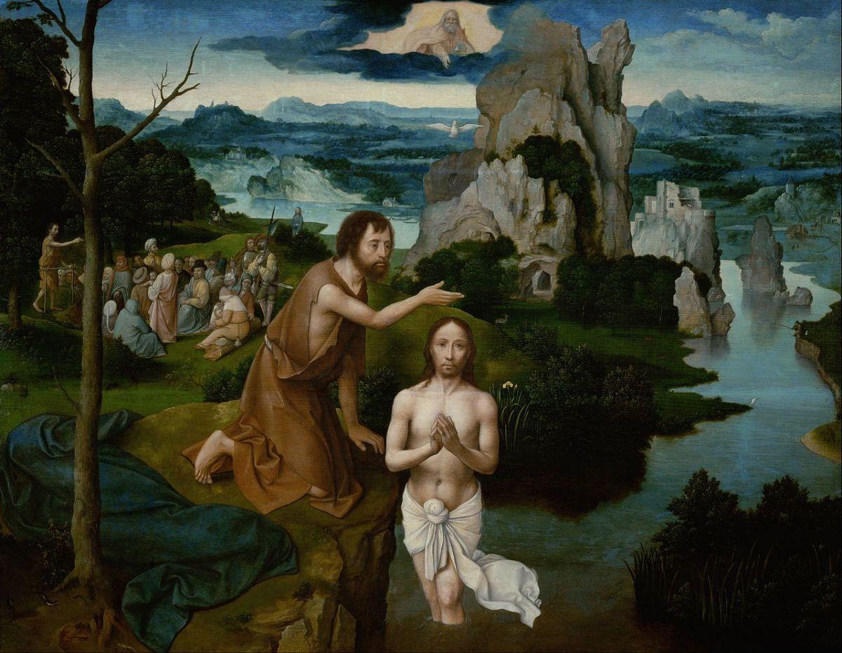 Baptism of Christ by Joachim Patinir
