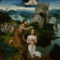 Baptism of Christ by Joachim Patinir