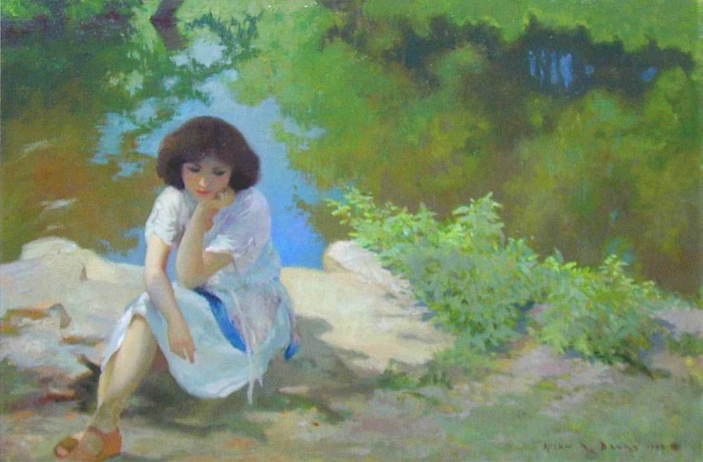 By the Lake by Allan R. Banks
