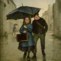 Going to School by Edouard Frere