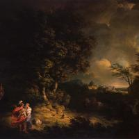 Landscape with Dido and Aeneas by Thomas Jones