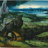Landscape with Saint Jerome by Joachim Patinir