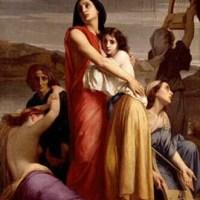 Les Femmes de Jérusalem captives à Babylone by Charles Zacharie Landelle
