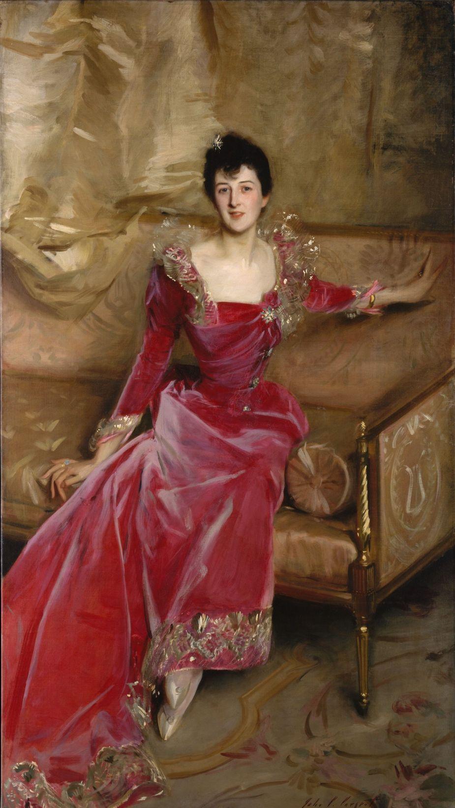 Mrs. Hugh Hammersley by John Singer Sargent