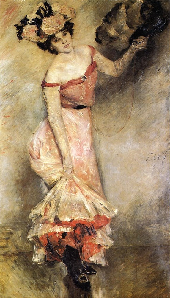 Portrait of Elly by Lovis Corinth