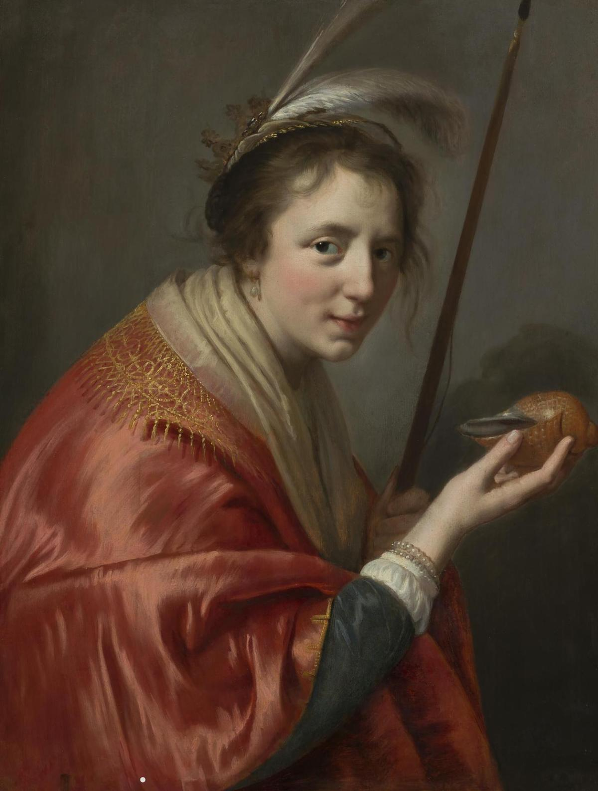 Portrait of a Young Woman by Paulus Moreelse
