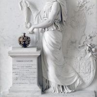 Princess of Hesse­Homburg before the Altar of Immortality by Jacques Augustin Pajou