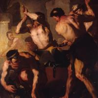 The Forge of Vulcan by Luca Giordano