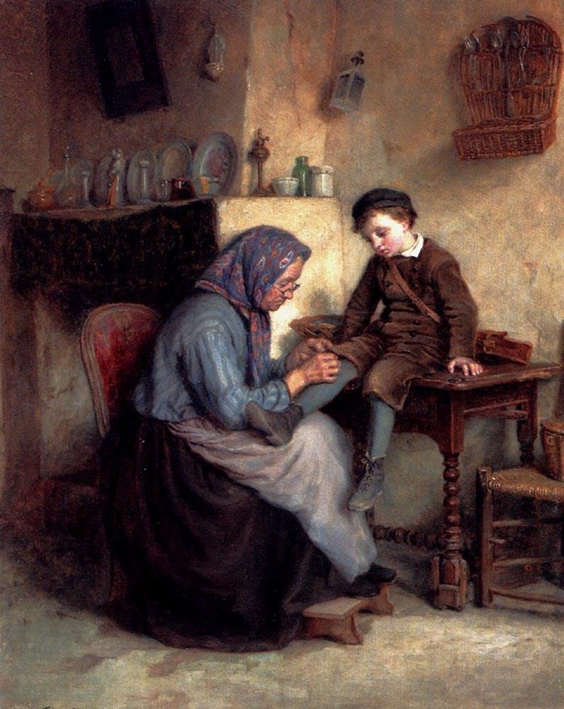 Worn Through by Edouard Frere