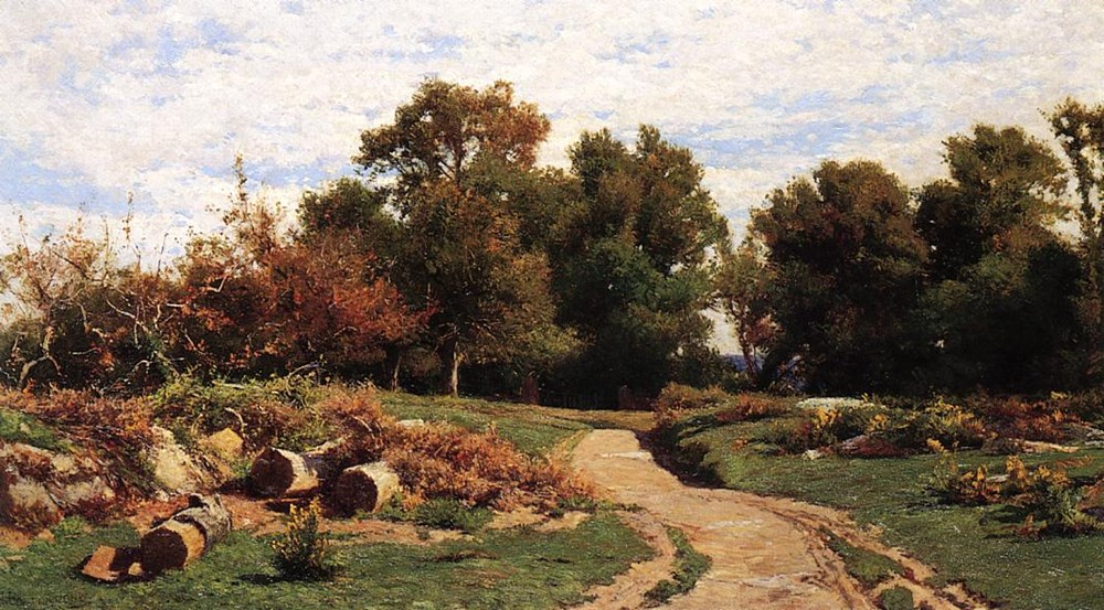 A Country Path in Summer by Hugh Bolton Jones