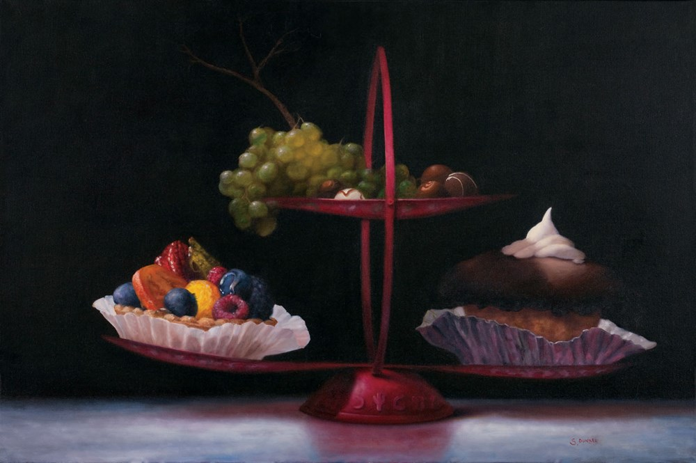 Desserts on a Chinese Stand by Stuart Dunkel