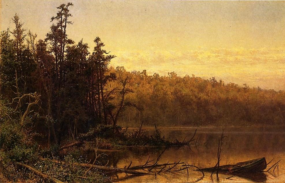 Evening on the Severn by Hugh Bolton Jones