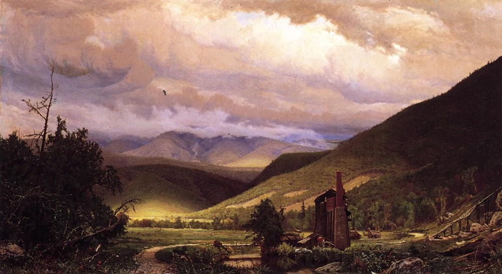 Old Smelter by Hugh Bolton Jones