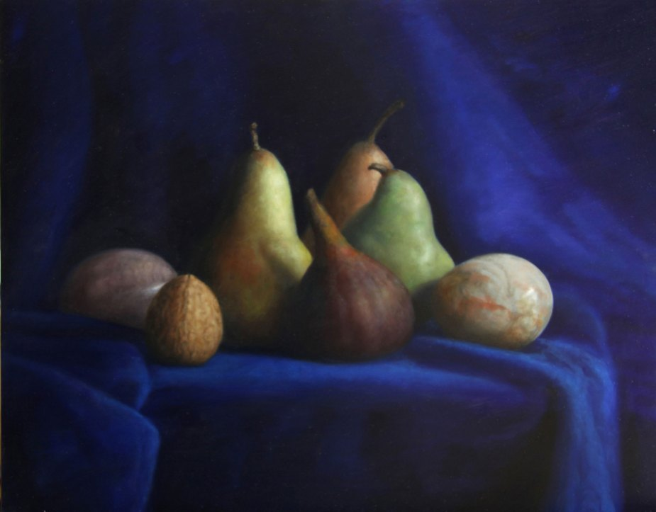 Pears and Eggs by Stuart Dunkel