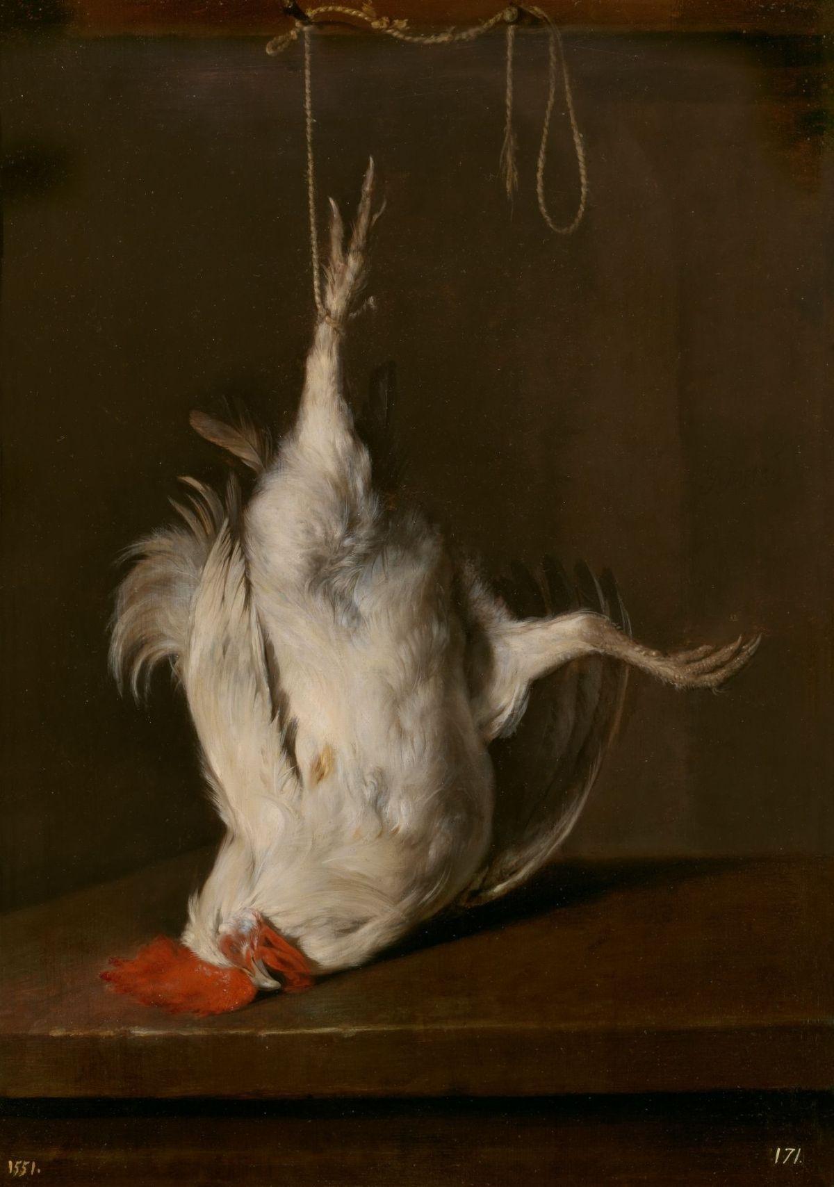 The Dead Cockerel by Gabriel Metsu