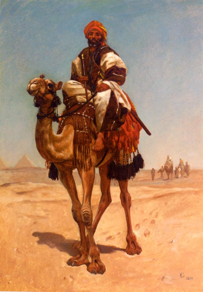 An Egyptian Nomad by Frederick Goodall