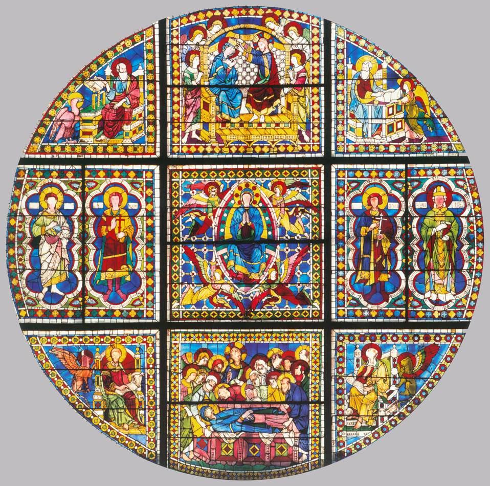 Window by Duccio di Buoninsegna
