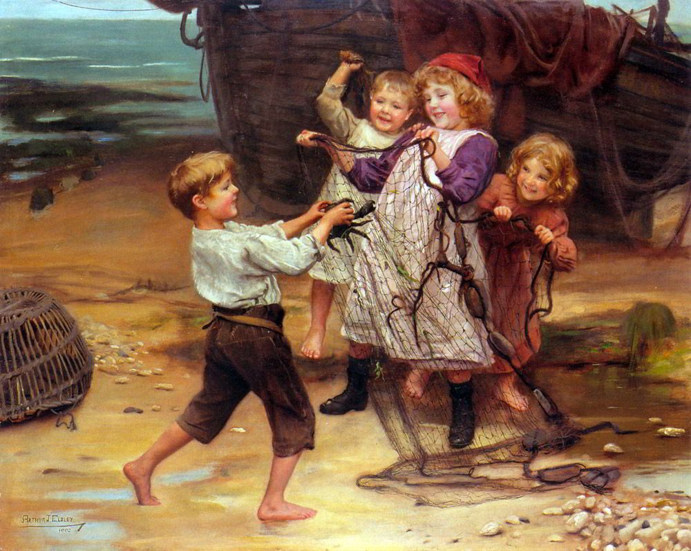 The Day's Catch by Arthur John Elsley