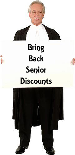 Bring Back Senior Discounts at McDonalds