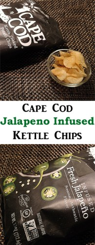 Cape Cod Jalapeno Infused Kettle Cooked Potato Chips