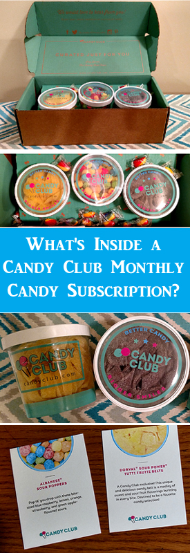 Candy Club Monthly Subscription Box
