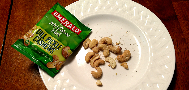 Emerald 100 Calorie Pack of Dill Pickle Cashews
