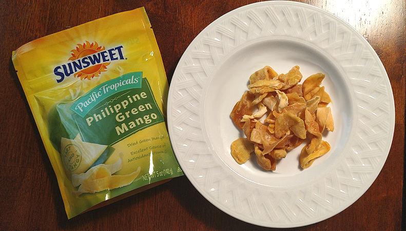 Sunsweet Pacific Tropicals Philippine Green Mango Dried Fruit