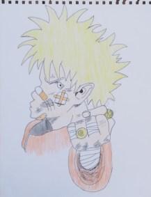 Naruto by Daniel McLachlan